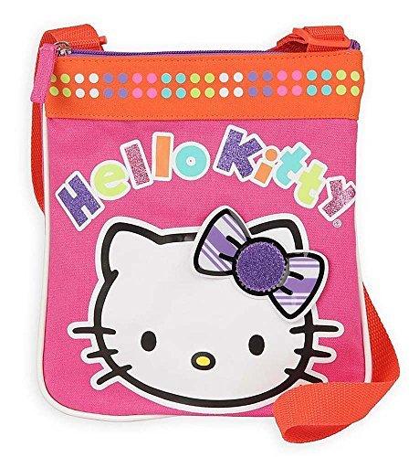 Hello Kitty Girl's Glitter Passport Purse