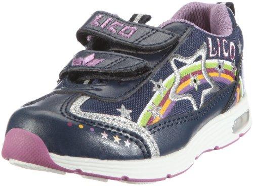 Lico Fairytale V 300052 - Zapatillas de nailon para niña Azul