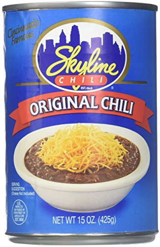 Skyline Chili 4 Cans/15oz Beef Tomato Paste