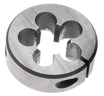 """10mm x 1.25 LEFT HAND Round Die, 1"""" Outside Diameter - High Speed Steel"""