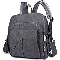 IHAYNER Large Capacity Maternity Baby Nappy Diaper Backpack (Multiple Colors)