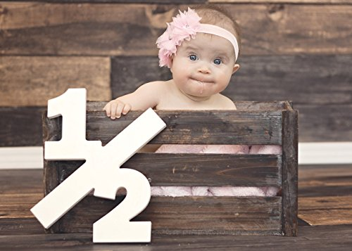 Half Sign 12 Baby Photo Prop For 6 Month Birthday