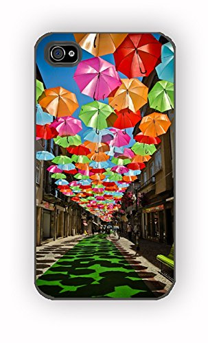 Umbrella Colorful Party for iPhone 4/4S Case