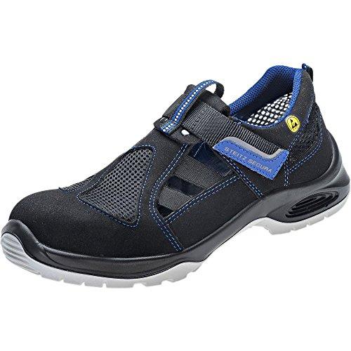 Steitz Secura DX 711 SF Sicherheits-Sandale S1P SRC ESD En ISO 20345 Blau Schwarz Blau