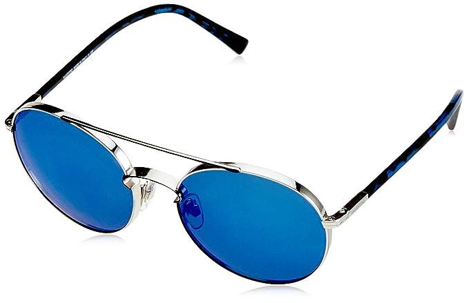 Valentino 0VA2002 300655 55 Gafas de sol, Azul (Silver/Bluee ...