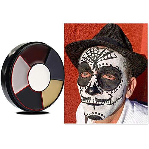 YENJO Drama Face Facial Body Oil Paint Clown Fans Devil Ghost Party Oil Paint Body -