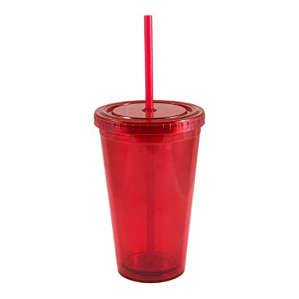 a8bc7cc9c07 Image Unavailable. Image not available for. Color: Liquid Logic Journey: Double  Wall Acrylic Tumbler with Straw ...