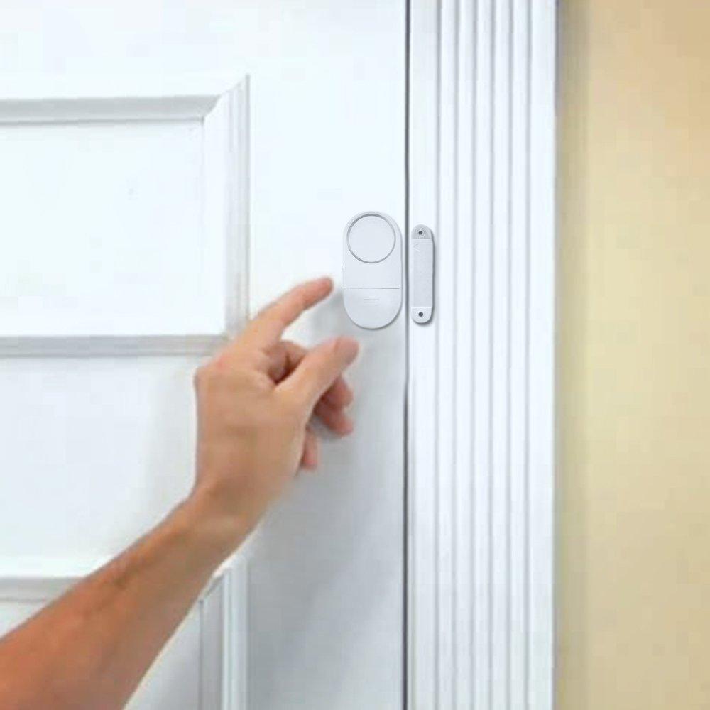 Amazon Best Wireless Loud And Discreet Mini Entry Alarm Easy To