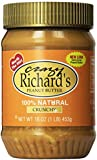 Crazy Richard's 100% Natural Chunky Peanut Butter 16 OZ