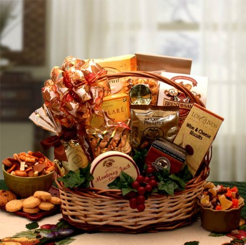 Delicious Gourmet! Lovely Gourmet Foods Gift Basket