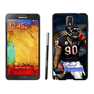 NFL Chicago Bears Julius Peppers Samsung Galalxy Note 3 Case Gift Holiday Christmas Gifts cell phone cases clear phone cases protectivefashion cell phone cases HLNKY604582099