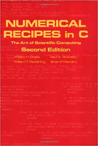numerical recipes 3rd edition the art of scientific computing