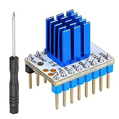 EEEKit TMC2208 Stepstick Stepper Motor Driver Module Board, with Heat Sink for 3D Printer