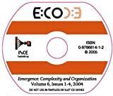 Emergence, Complexity and Organization : Issues 1-4 2004, , 0976681412