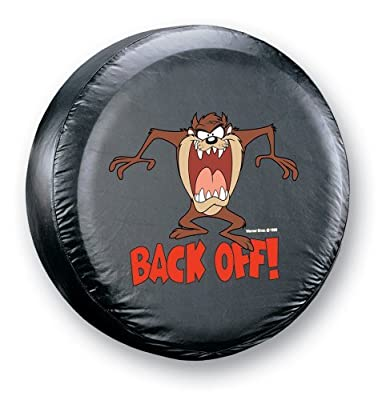 "Taz "" Back Off!"" Spare Tire Cover"