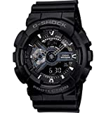 Casio G-Shock X-Large Display Stealth Black Watch (GA110-1B) - Water and Shock...