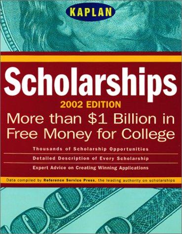 Kaplan Scholarships 2002 (Scholarships (Kaplan))