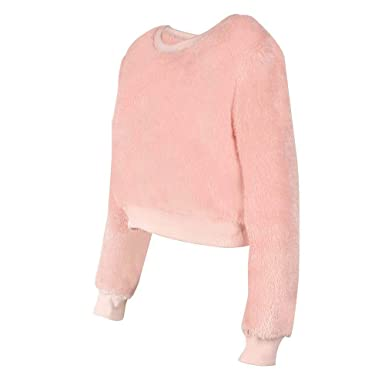 Sammoson Womens Blouses Dressy Women Solid Long Sleeve Sexy Tops