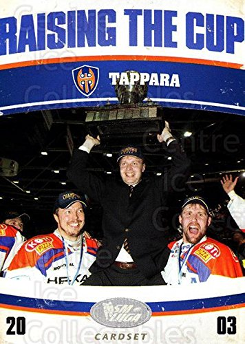 fan products of (CI) Tappara Tampere Hockey Card 2011-12 Finnish Cardset Raising The Cup 9 Tappara Tampere