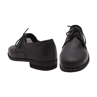 Amazon com: 10Code Civil War Napolean Shoes Leather Soldier