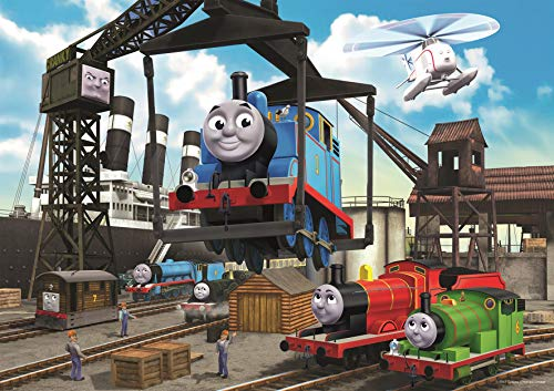 (Ravensburger Thomas & Friends at The Docks 35 Piece Jigsaw Puzzle for Kids – Every Piece is Unique, Pieces Fit Together Perfectly)