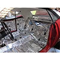 HushMat 661611 Sound and Thermal Insulation Kit (1961-1962 Mopar A Body Lancer - Floor)