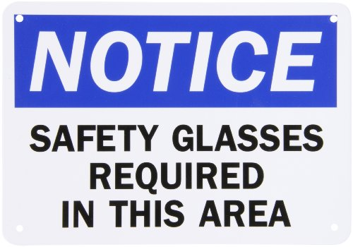 SmartSign Plastic OSHA Safety Sign, Legend