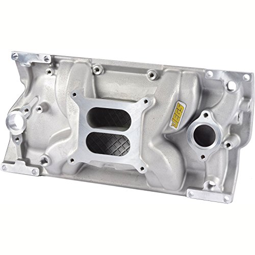 JEGS 513002 Intake Manifold Small Block Chevy with 1996-Up Vortec L31 Cast Iron ()