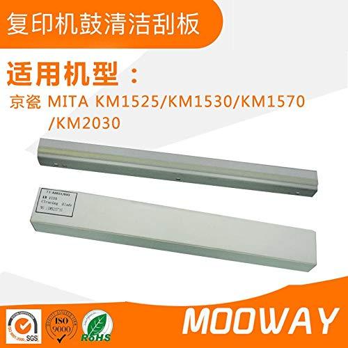 Mita Copier Drum - Printer Parts Compatible Cleaning Blade for KYOCERA Mita KM-1530 1525 1570 Copier Drum Cleaning Scraper Blade