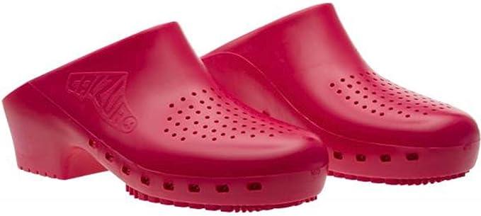 Cascos sanitarios calzuro Classic S Sin orificios profesionales CE 34-35 Granato