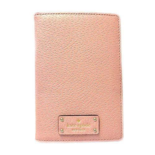 Kate Spade Leather Passport Holder Case (Pinkbonnet 656)