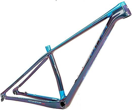 Marco de Bicicleta Cuadro de montaña de Fibra de Carbono de 18 ...