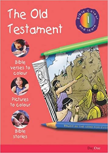 Bible Colour And Learn 01 Old Testament Amazoncouk Karen Troman 9781903087169 Books