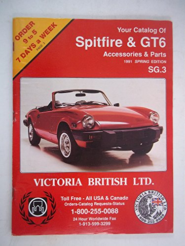 Spitfire & GT6 Accessories & Parts 1991 Spring Edtion, SG (Spitfire Accessory)