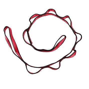QZPMTFLY Yoga Estirador Cinturón Extensor Cuerda Antena Yoga ...