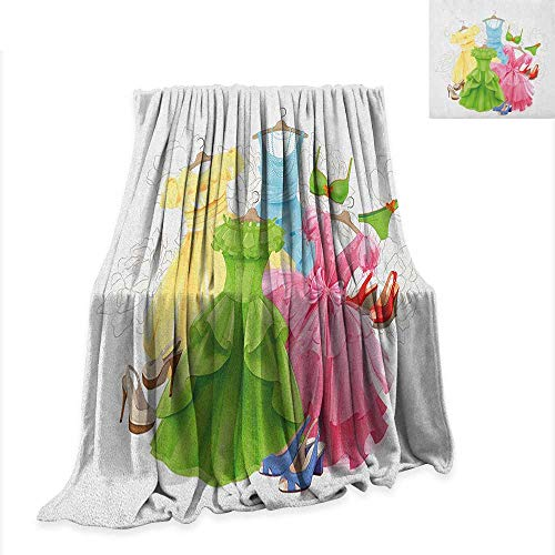 Anyangeight Heels and Dresses Digital Printing Blanket Princess Outfits Bikini Shoes Wardrobe Party Costumes in Girls Design 70
