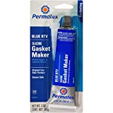 Permatex 80022 Sensor-Safe Blue RTV Silicone Gasket Maker, 3 oz. Tube