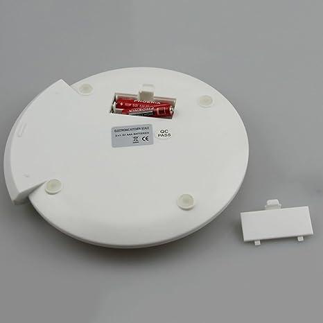 Digital Kitchen Scale 5kg Mini balanzas electrónicas con Pantalla LCD, Baterías operadas, Verde: Amazon.es