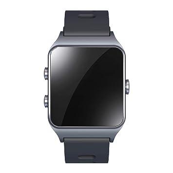 4d3ecbb63 Leotec GPS Total Heart II - Smartwatch, color gris: Amazon.es: Electrónica