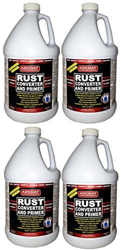 Rust Converter and Primer - 4 Gallons - One-step to Remov...
