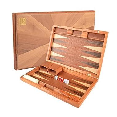 Wooden Inlaid Backgammon Game Set 17