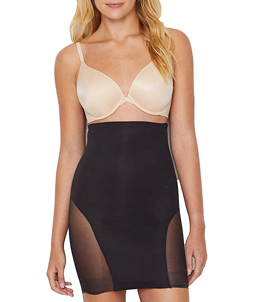 0089bb530d Miraclesuit Womens Extra Firm Sexy Sheer Shaping Hi-Waist Slip Miraclesuit  Shapewear 2784-001