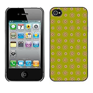 ZECASE Funda Carcasa Tapa Case Cover Para Apple iPhone 4 / 4S No.0000635