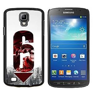 EJOOY---Cubierta de la caja de protección para la piel dura ** Samsung Galaxy S4 Active i9295 ** --6 Pistola
