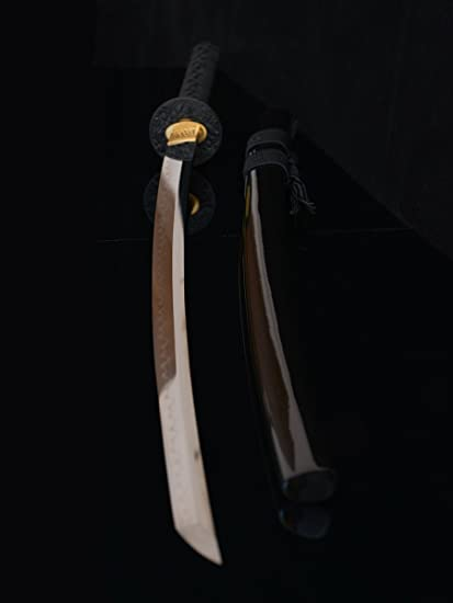 Amazon.com: Handmade Katana Real Sharp espada hoja de acero ...