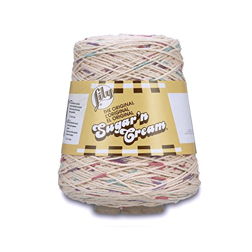 - Lily Sugar'n Cream Cotton Cone Yarn, 14 oz, Potpourri Prints, 1 Cone
