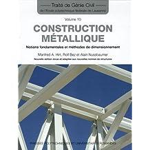 Construction Métallique (tgc Volume 10)