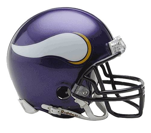 - Minnesota Vikings  Official Replica Mini Helmet