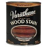 Varathane 211727H Premium Wood Stain, Quart, American Walnut
