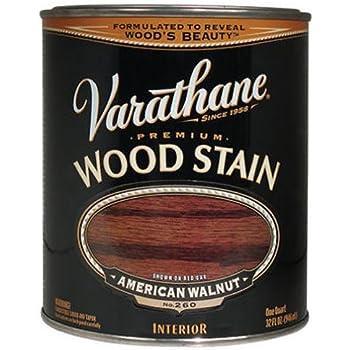 Rust-Oleum 211727H Varathane Oil Base Stain, Quart, American Walnut